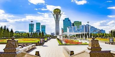 Transport Kolejowy Kazachstan